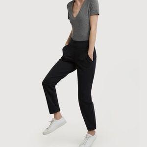 KIT & ACE Black Mulberry Stretch Elastic Pants 8